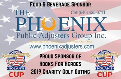Proud Sponsor of the Hooks For Heroes Charity Golf Outing